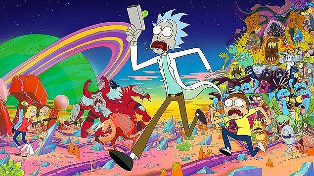 3. Rick and Morty