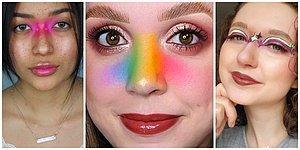 """Maske Takmaktan Sıkılmanın Sonuçları: """"Bir Orası Kalmıştı"""" Dedirten Yeni Burun Makyajı Trendi"""