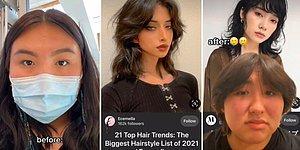 Kuaför Terörü Her Yerde: İnternette Gördüğü Saçı Yaptırmak İsteyen Kadının Kötü Sonuçlanan Deneyimi
