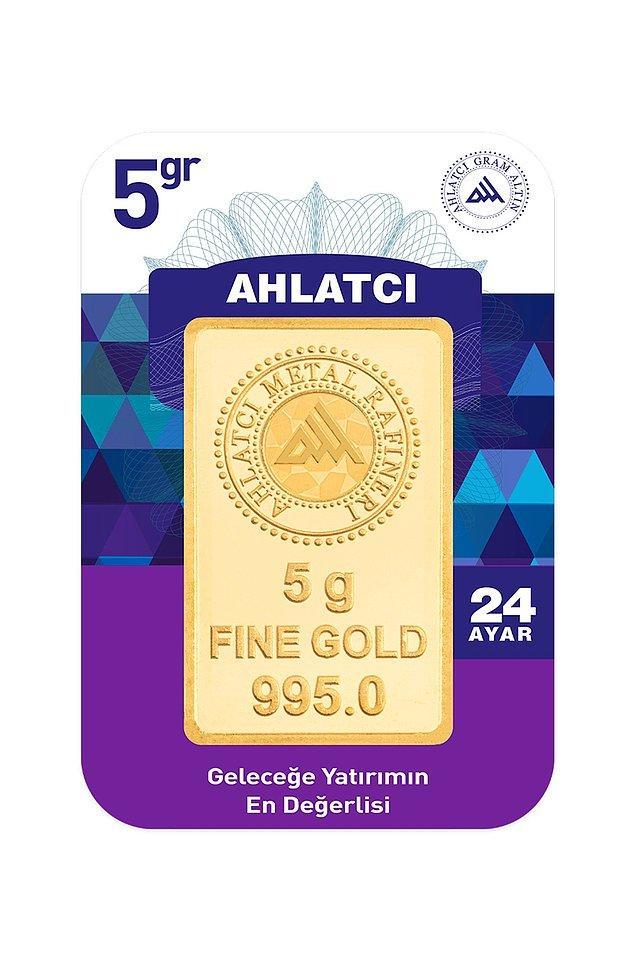 1. 24 ayar 5 gram altın