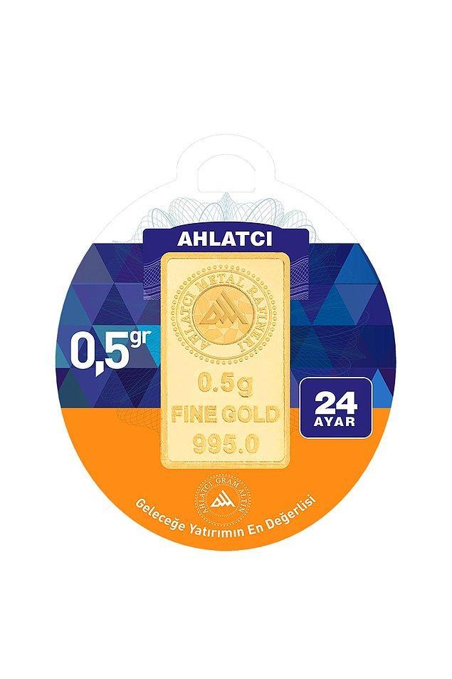 4. 24 ayar yarım gram altın
