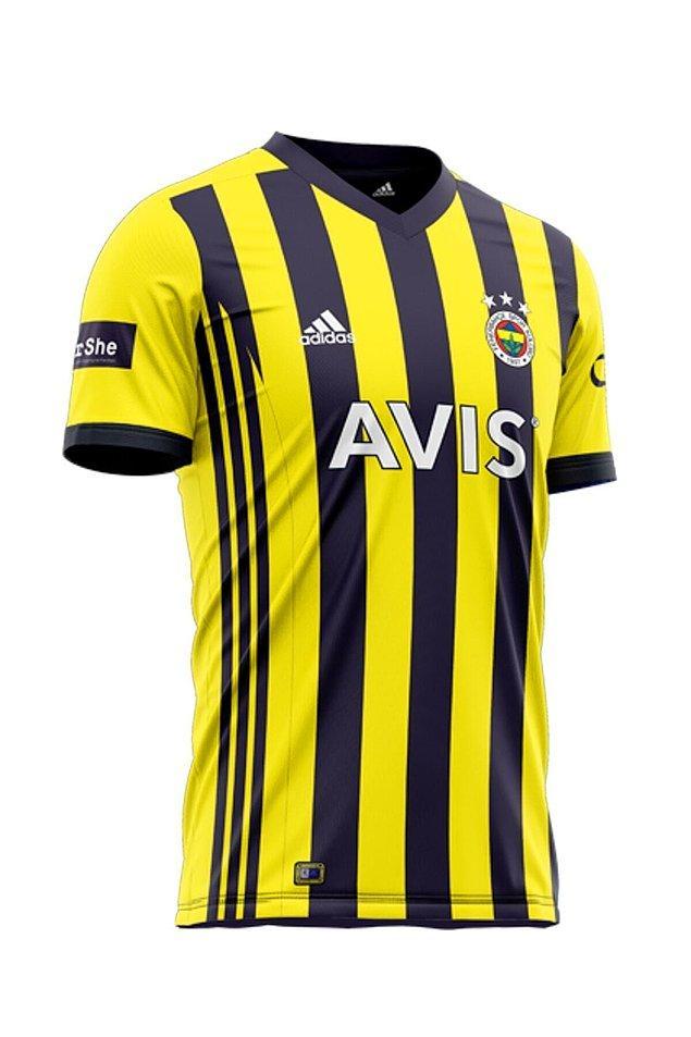 12. Fenerbahçe'nin ikonikleşen forması.