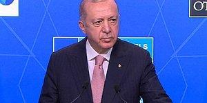 Cumhurbaşkanı Erdoğan Biden'le Görüşmesinin Ardından Açıklama Yapıyor! İşte Erdoğan'ın Açıklamaları...