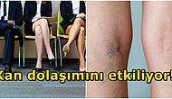 Sürekli Bacak Bacak Üstüne Atarak Oturan İnsanların Vücudunda Neler Olur?