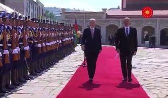 NATO'daki 'Geç Dönme' Olayından Sonra Şimdi de Cumhurbaşkanı Erdoğan'ın Bakü'deki Yürüyüşü Gündem Oldu