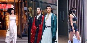 Çin Sokak Modasının İzlerken Dibinizin Düşmesine Neden Olacak Görüntüleri 🔥
