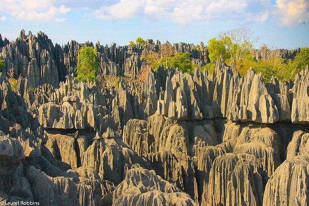 15. Madagaskar'da Dünya Mirasları Listesi'ne girmiş 3 yer bulunur.