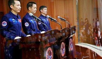 Ne Yapacaklar? Çin'in Yeni Uzay İstasyonunda Görev Alacak İlk Astronot Ekibi Yola Çıktı