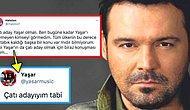 Ünlü Şarkıcı Yaşar Twitter'da Kendisine Söylenmiş Övgü Dolu Sözlerin Ardından 'Çatı Adayıyım' Dedi!