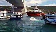 İstanbul Boğazı'nda Gemi ile Teknenin Çarpışması Sonucu 2 Kişi Hayatını Kaybetti