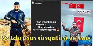 HDP İzmir İl Binasına Saldırı Düzenleyen Onur Gencer'in Silahlı Fotoğrafları ve Kan Donduran Paylaşımları