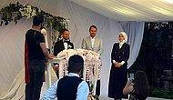 En Son Çamlıca Camii'nde Görülen Berat Albayrak Bu Kez Bir Düğünde Ortaya Çıktı!