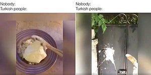 Türkler Olarak Her Yemeğin Üzerine Yoğurt Dökmemizi İronik ve Mizahi Bir Dille Anlatan Video