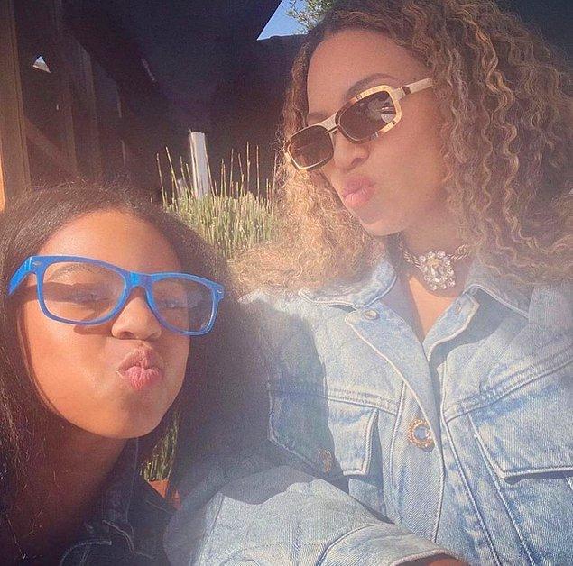 4. Beyoncé, kızı Blue Ivy'nin ismini koyarken sevdiği bir kitaptan esinlenmiş.