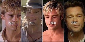 Bu Yaşlanmak Değil: Her Filmiyle Büyüleyen Brad Pitt'in Yıllar İçindeki Değişimi