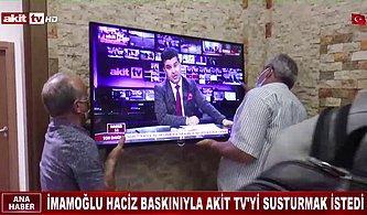 İmamoğlu'na Hakaret Eden ve Tazminatı Ödemeyen Akit TV'nin Eşyalarına Haciz!