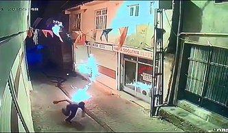 AKP'nin Diyarbakır'daki Binasına Molotoflu Saldırı!