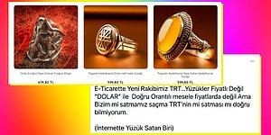 Henüz Bir Marketi Olmasına Tepkiler Bitmemişken TRT'de Satılan Yüzük Modelleri ve Fiyatları da Çok Konuşuldu!