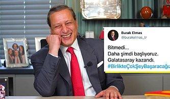 Taraftarın İstediği Oldu! Fatih Terim'le Çalışacağını Açıklayan Burak Elmas Galatasaray'ın Başkanı Seçildi