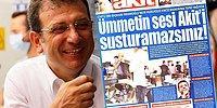 İmamoğlu'nun Haciz Gönderdiği Yeni Akit'ten 'Araştırmacı Gazetecilik' Vurgusu: 'Susturamazsınız'