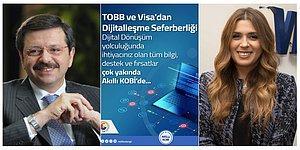 """TOBB ve VİSA'dan """"Akıllı KOBİ"""" İle Dijitalleşme Seferberliği"""
