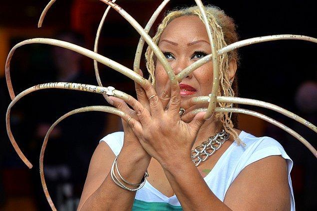 10. Uzun tırnak Çin'de ilgi gören bir diğer güzellik sembolüydü.