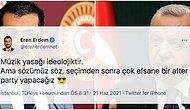 """CHP'li Eren Erdem'in Müzik Yasaklarıyla İlgili Yaptığı """"After Party"""" Yorumu Tartışma Yarattı"""