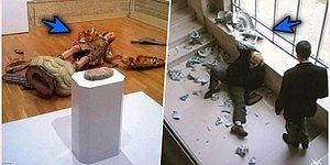 Herkesin Aklına Gelen Soruyu Cevaplıyoruz: Müzedeki Bir Sanat Eserine Yanlışlıkla Zarar Verirseniz Ne Olur?
