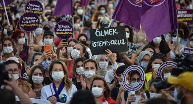 """""""İstanbul Sözleşmesi'nden çıkmayı meşrulaştırma girişimi"""""""