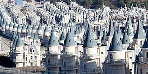 Perili Köy Değil Gerçek! 11 Yıldır Yapımı Tamamlanamayan Burj Al Babas Şatoları Yeniden Gündemde