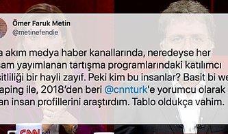 CNN Türk'ün Kazık Çakan Yorumcularını ve Geldikleri Vahim Noktayı Gözler Önüne Seren Enfes Araştırma