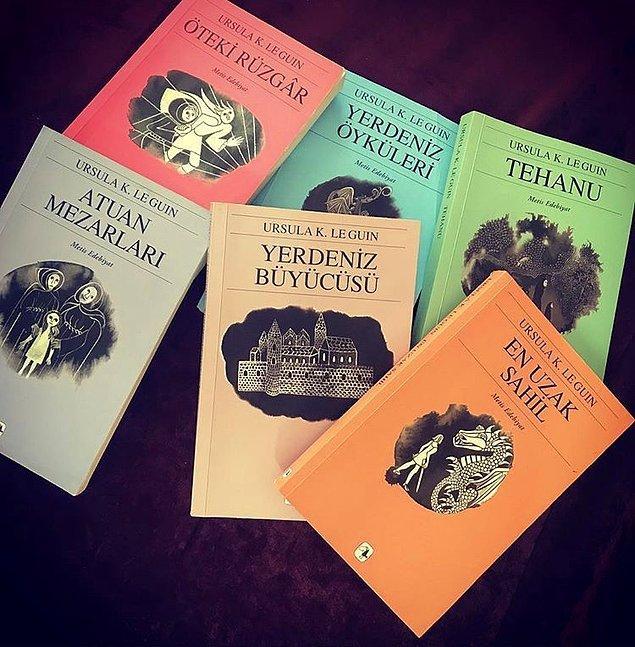 8. Yerdeniz - Ursula K. Le Guin