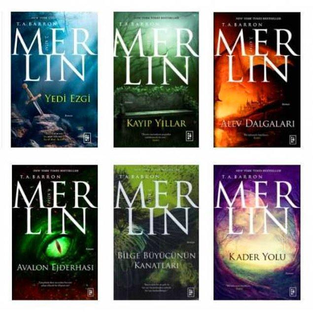 15. Merlin - T. A. Barron