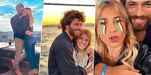 Reklam Sandık ama!.. Roma'dan İstanbul'a Uzanan Can Yaman-Diletta Leotta Aşkında İşler Ciddileşiyor