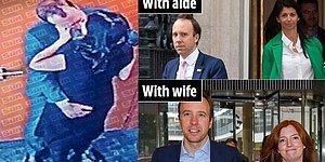İngiltere Güne Skandalla Başladı! Sağlık Bakanı Karısını Aldatırken Yakalandı