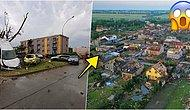 Çekya'nın Güney Moravya Bölgesinde Yaşanan Kasırganın Ardından Ortaya Çıkan Ürkütücü Görüntüler