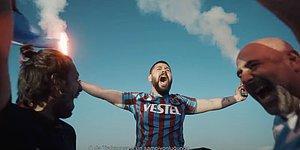 Tranzonspor'un Yeni Forması #KemençeninRüyası Videosuyla Tanıtıldı