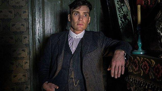 Heyecan dolu dizinin baş karakteri Thomas Shelby oldukça enteresan bir karakter.
