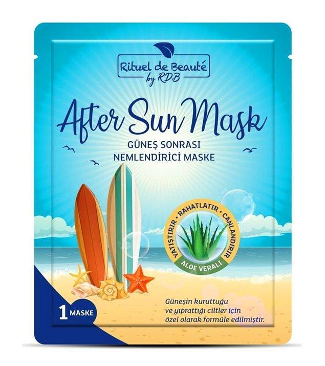 11. Smartfox güneş sonrası nemlendirici bakım maskesi