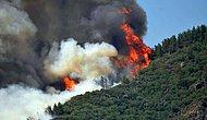 """Marmaris'te Büyük Yangın! Orman Genel Müdürlüğü: """"Bir Kahraman Personelimiz Şehit Oldu"""""""