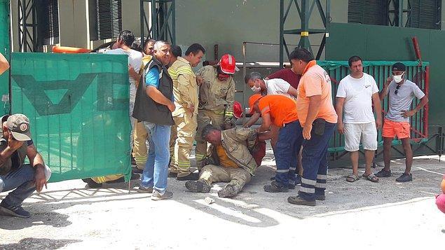 Görkem Hasdemir'in yangına ilk müdahale eden 6 kişilik ekipte görevli olduğu aktarılan açıklamada, rüzgarın ters dönmesiyle işçilerin alevler arasında kaldıkları vurgulandı.
