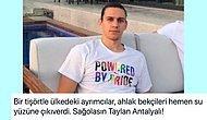 LGBT Temalı Tişört Giydiği İçin Spor Yorumcularının Eleştirdiği Taylan Antalyalı'ya Destek Yağdı