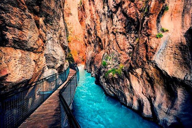 3. Saklıkent Kanyonu, Muğla