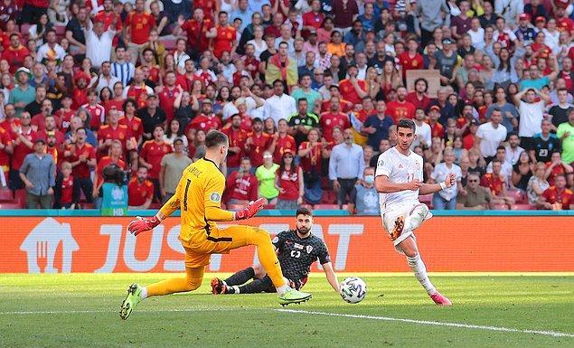 İspanya'dan gol yağmuru