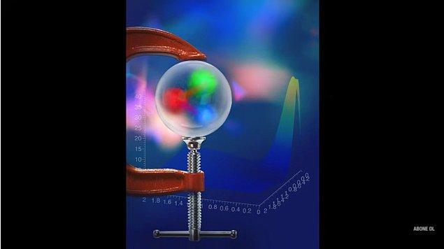 Kimisi de ışığın protonun çapı kadarlık bir mesafeyi geçmesi için gereken sürenin 10 üzeri eksi 42 saniye olduğunu hesapladı.