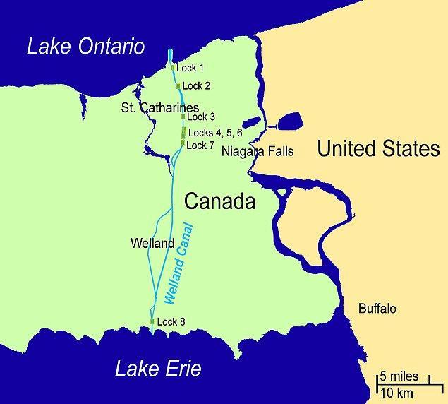 10. Welland Kanalı