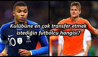 Avrupa Futbol Şampiyonası'nda Oynayan Futbolculardan Birini Takımına Transfer Edecek Olsan Kimi Alırdın?