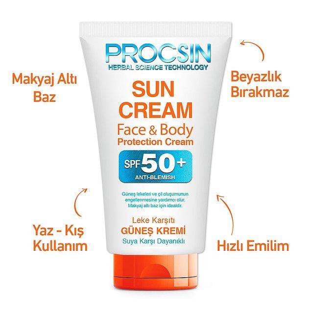 2. Procsin Güneş Kremi Koyu Leke Karşıtı Spf 50, 50 ml
