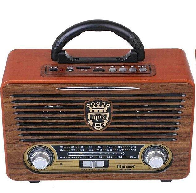 11. Nostaljik radyo sevenlerin evine çok yakışacak.