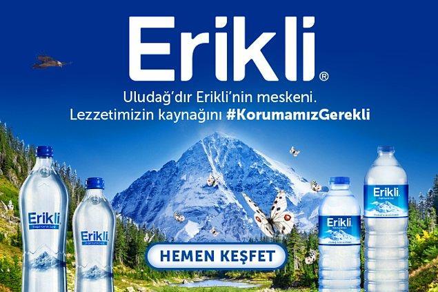 Erikli'dir Uludağ'ın meskeni, lezzetimizin kaynağını korumamız gerekli.💙